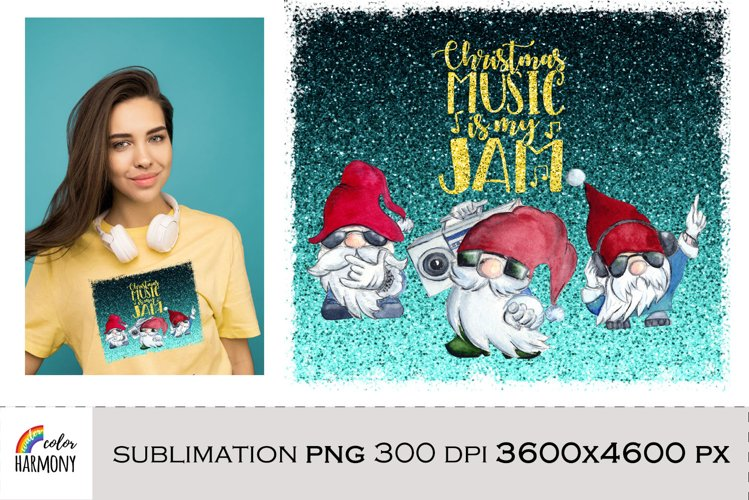 Christmas Gnomes png sublimation design example image 1