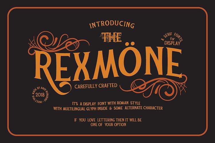 REXMONE example image 1