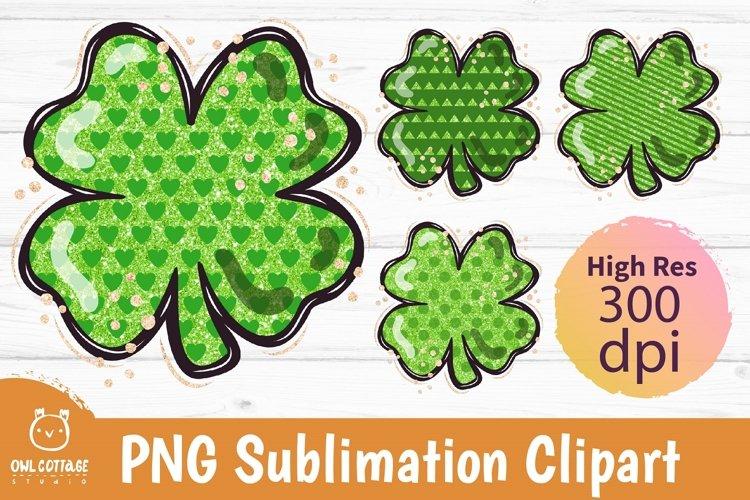 St. Patricks day sublimation, Clover Leaf, Shamrock