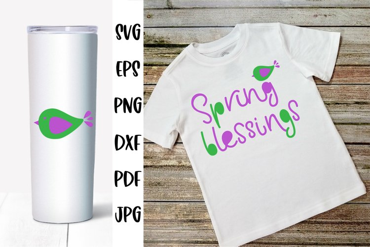 Spring Quotes SVG. Spring Blessings Signs SVG
