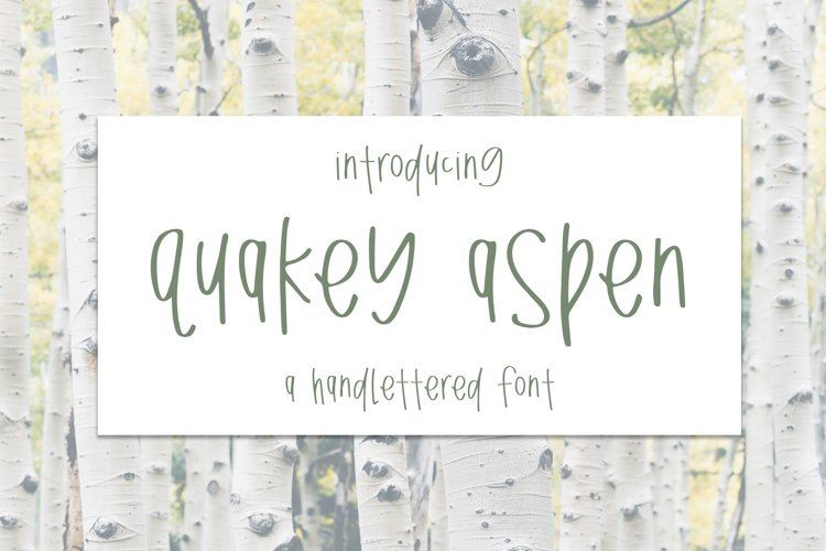Quakey Aspen