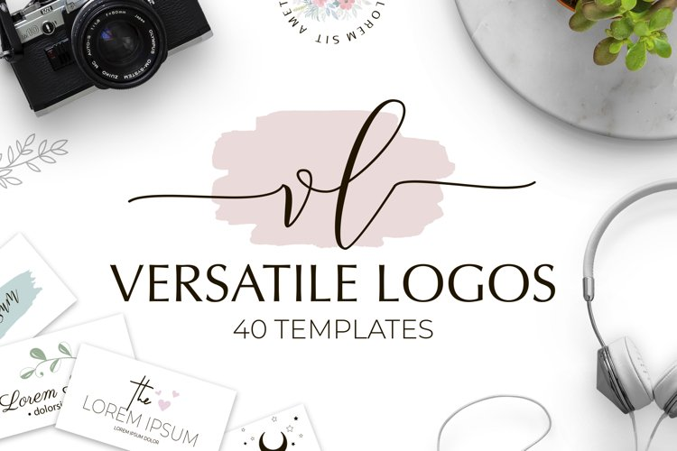 Versatile Logo Templates Pack example image 1