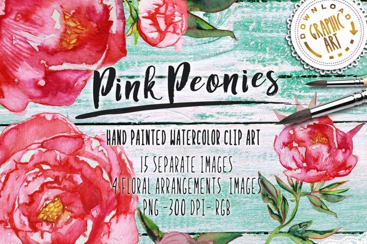Pink Peonies example image 1
