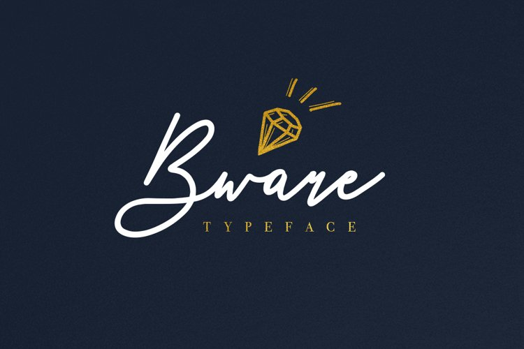Bware Typeface example image 1