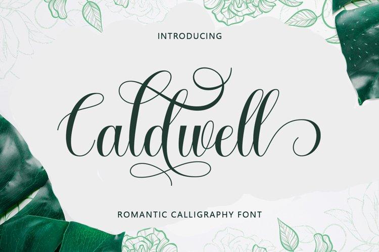 Caldwell Script example image 1