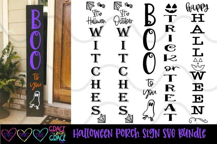 Halloween Porch Sign Leaner Bundle