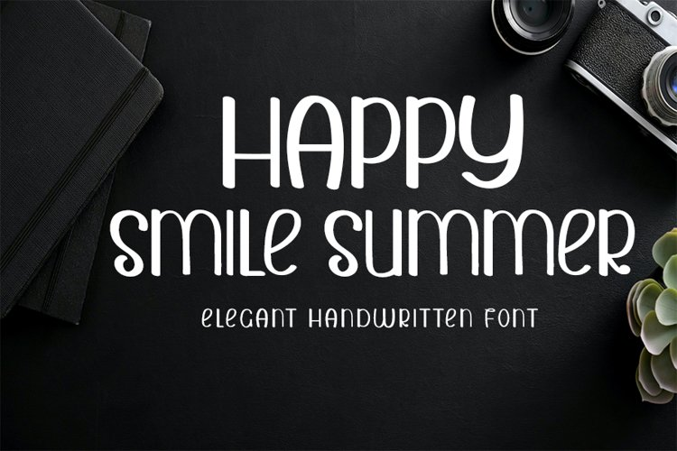 Happy Smile Summer example image 1