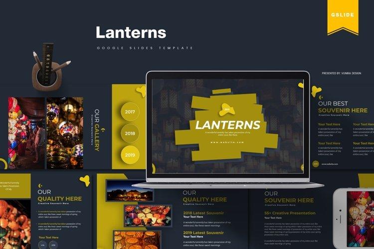 Lanterns | Powerpoint, Keynote, Google Slides Template example image 1