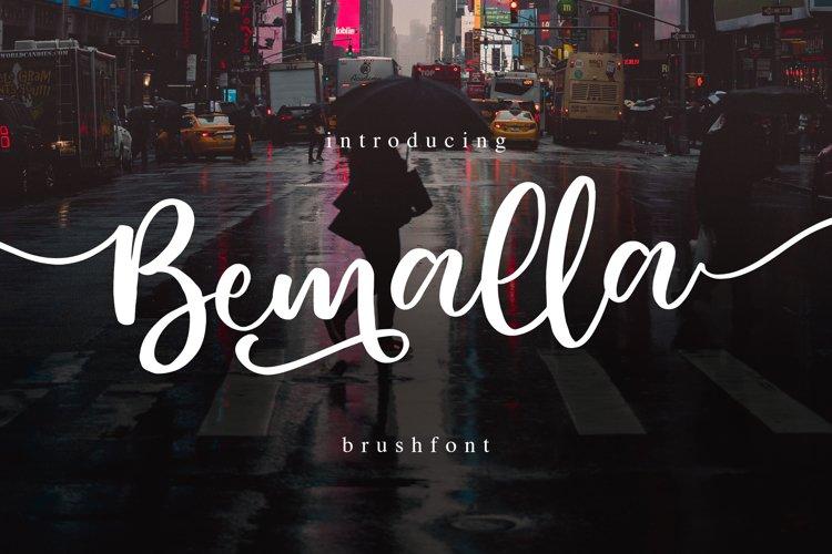 Bemalla Font example image 1