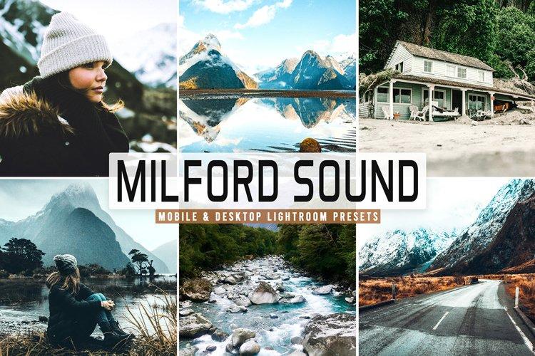 Milford Sound Mobile & Desktop Lightroom Presets example image 1