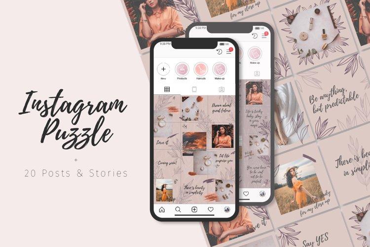 Instagram Puzzle | Posts & Stories example image 1