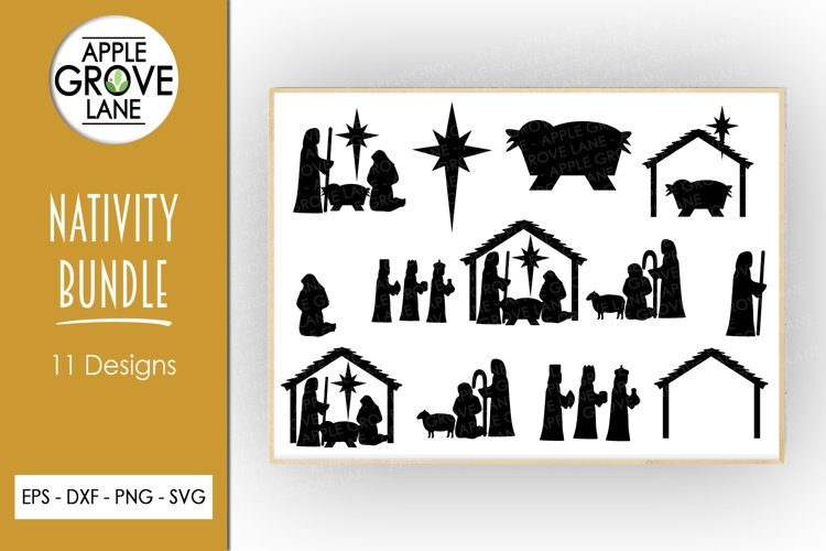 Nativity Svg Bundle - 11designs included - Svg Cut Files