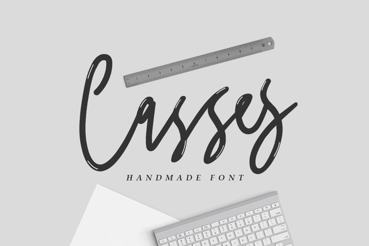 Casses Font example image 1