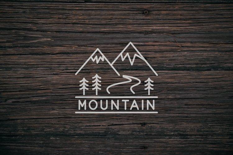 monoline mountain example image 1