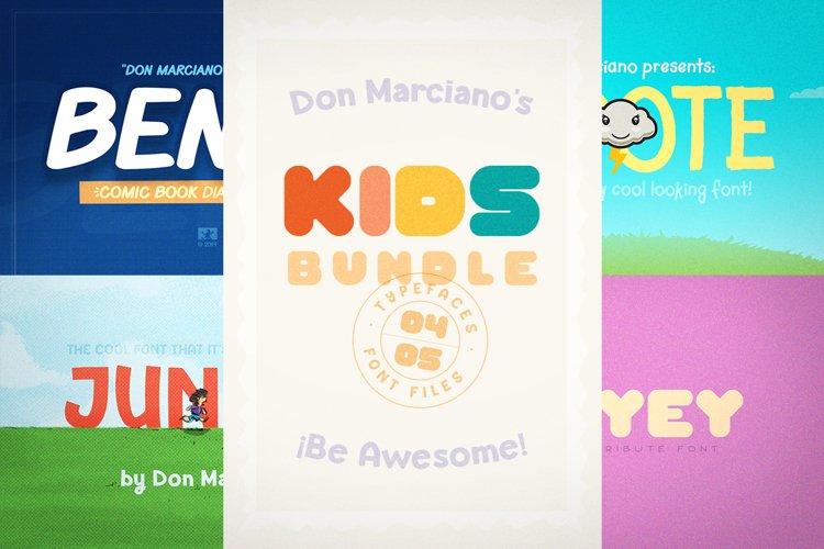 Kids Font Bundle