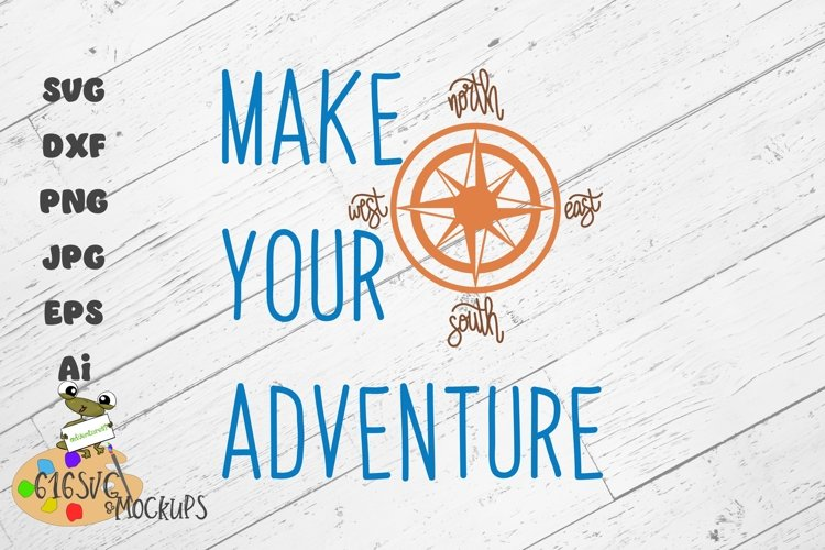 Make Your Adventure SVG example image 1