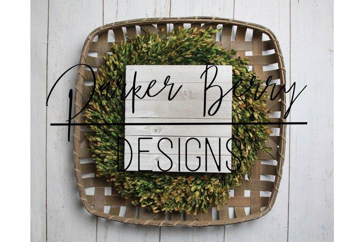Wood Sign Farmhouse Style Mockup example image 1