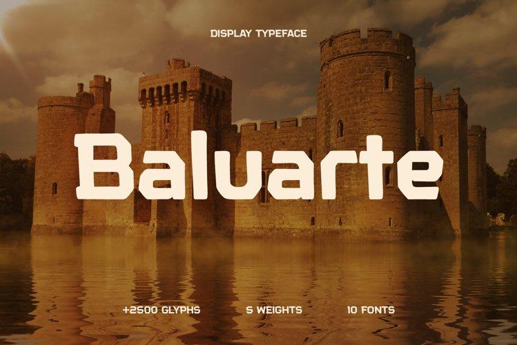 Baluarte Typeface example image 1