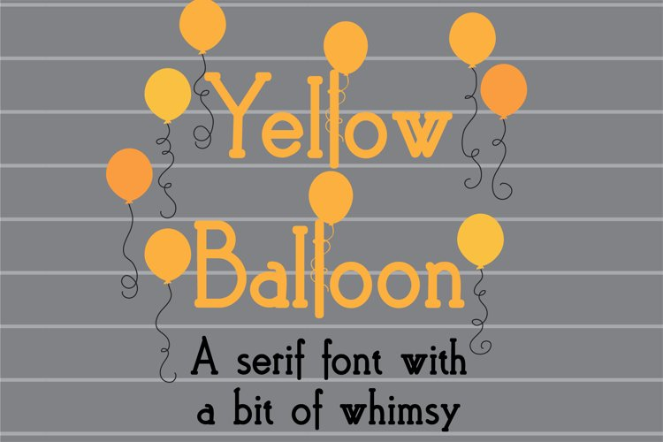 PN Yellow Balloon example image 1