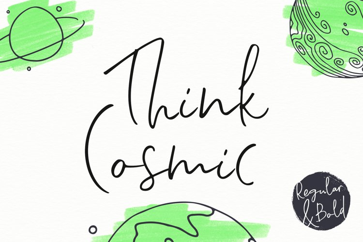 Think Cosmic | A Casual Script example image 1