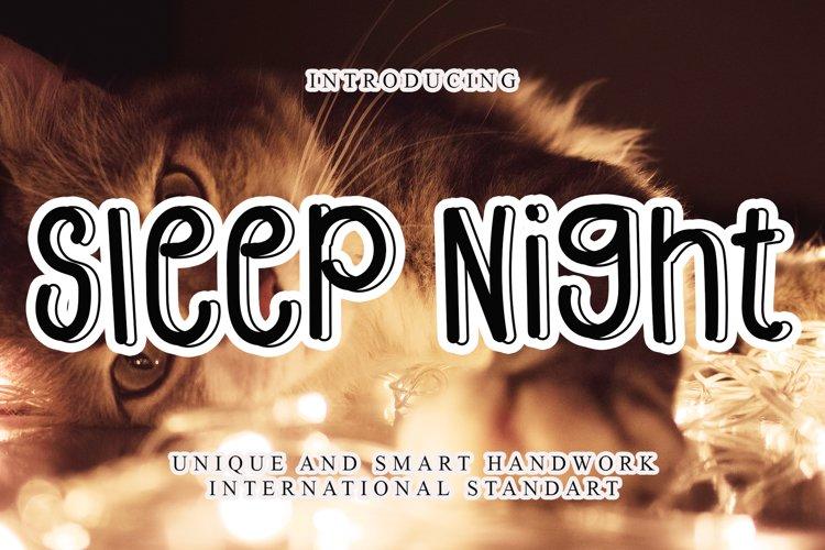 Sleep Night example image 1