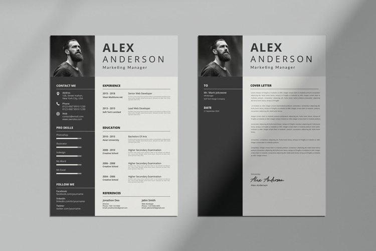 Professional CV Resume & Letter Template
