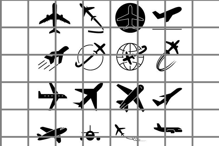 Aircraft cut file. Airplane SVG. Travel cutting set.
