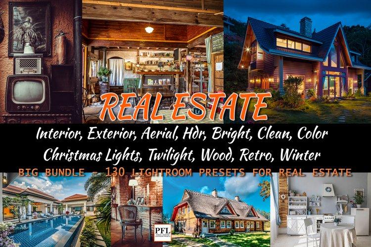 REAL ESTATE Lightroom Presets Bundle for Mobile and Desktop example image 1