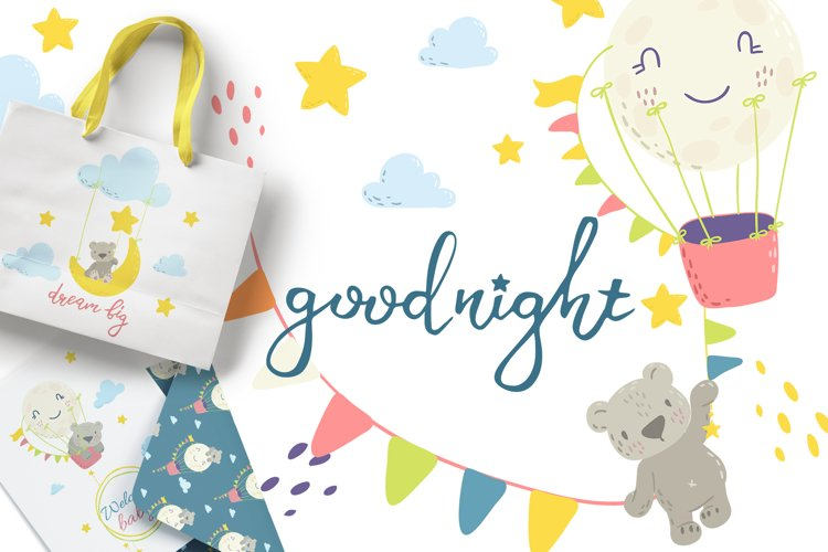 Good night. Vector collection