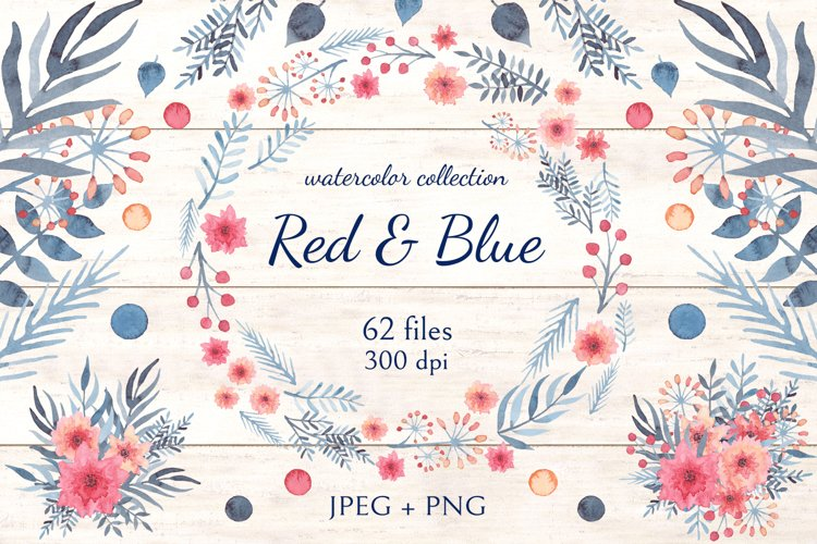 Red & Blue example
