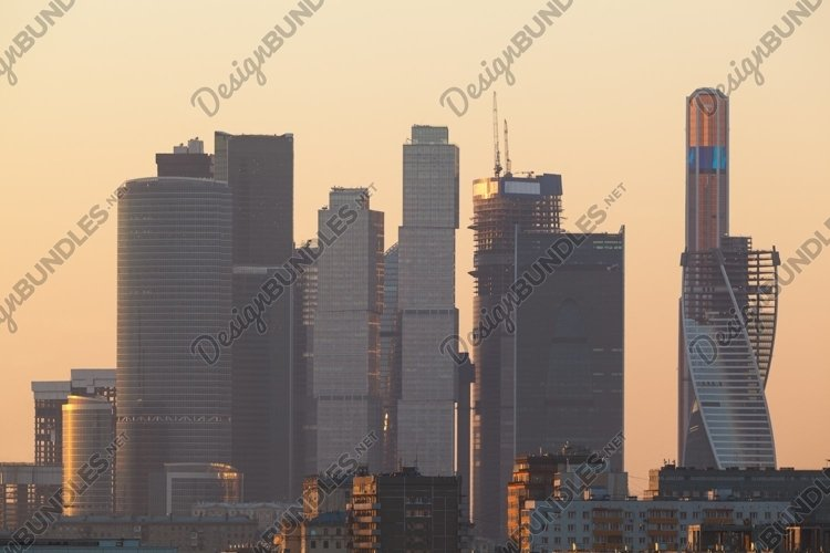 Modern skyscrapers example image 1