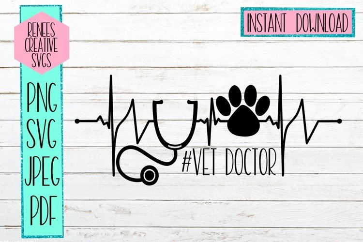 VetDoctor   Veterinary Doctor  SVG Cutting File