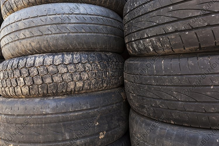 damaged rubber tires example image 1