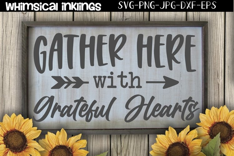Gather Here SVG example image 1