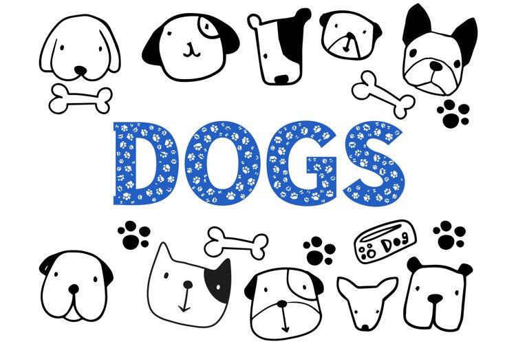 Dog Paw - Pet Font example image 1