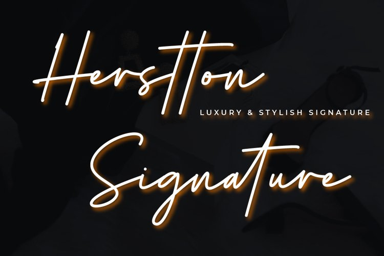 Herstton Signature | Two Style Signature