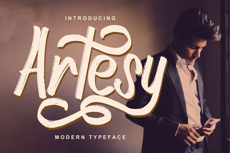 Artesy   Modern Typeface Font example image 1