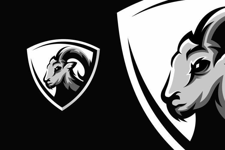 goat logo design example image 1