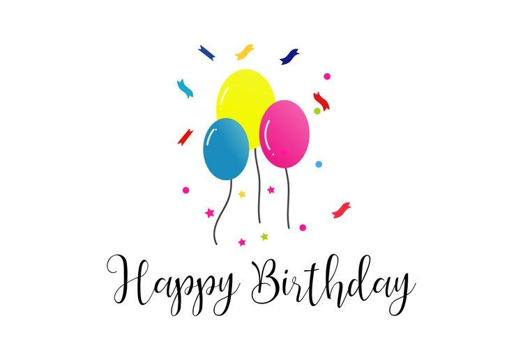 happy birthday SVG, Balloon svg,Birthday SVG, Party SVG, Birthday Party Svg, Balloons Svg, Svg Files for Cricut, Cricut Svg