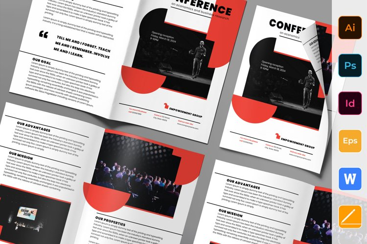 Conference Brochure Bifold example image 1