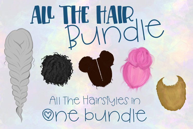 All The Hair Bundle  All Hairstyles for Build a Bundles