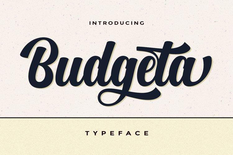 Budgeta Script example image 1