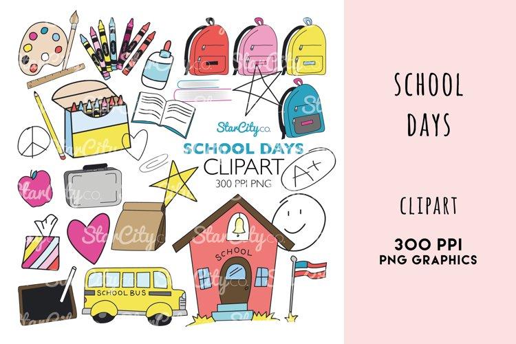 School Days Clipart Graphics
