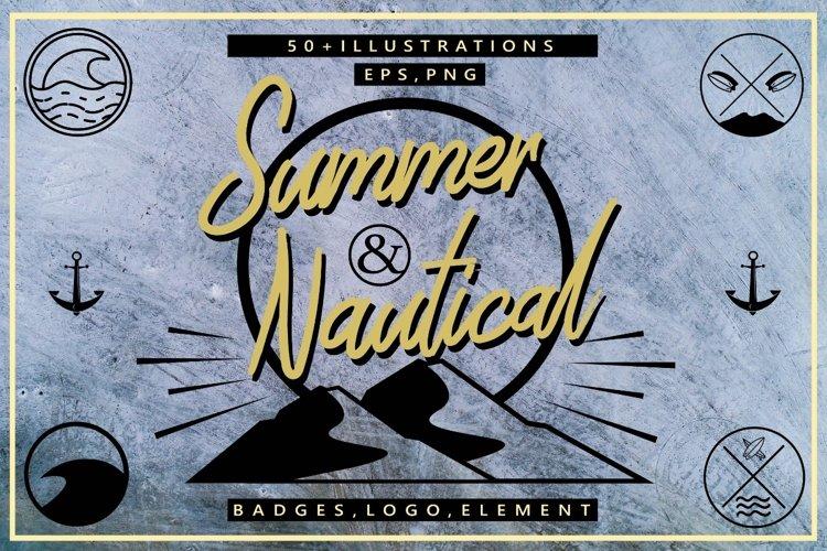 Summer & Nautical Element Pack