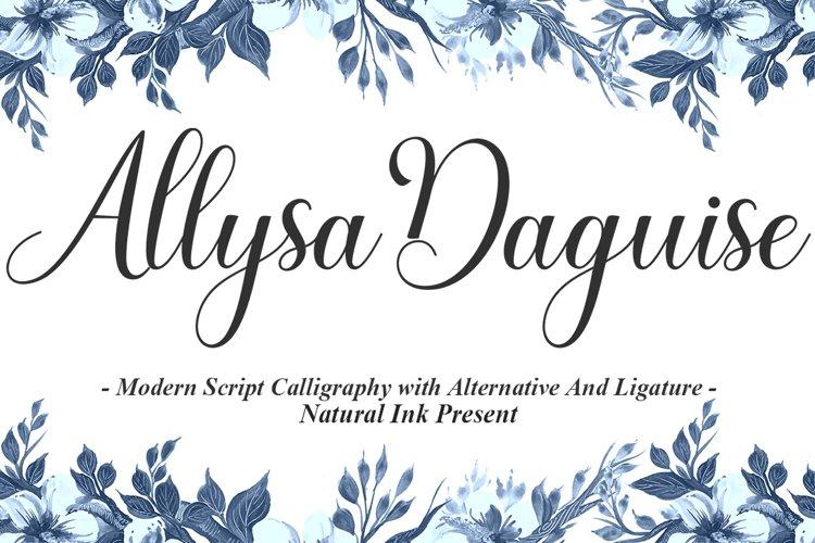 Allysa Daguise example image 1