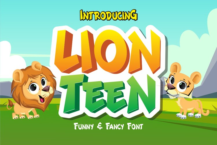 Lion Teen example image 1