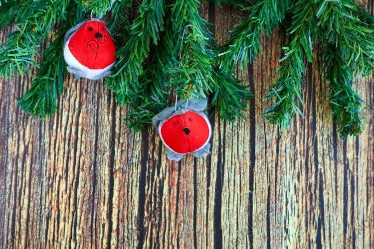 Christmas, New Year, winter holidays background example image 1