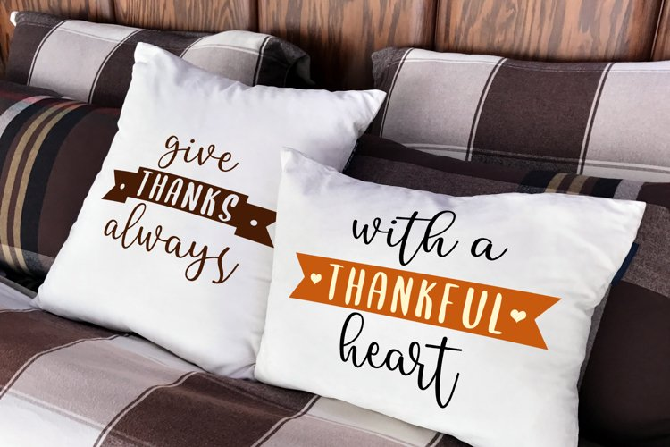 Thanksgiving Phrase Duo SVG Design