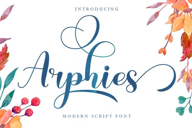 Arphies example image 1