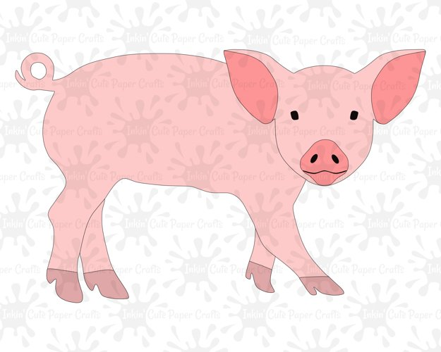 Pig SVG / Pig Clipart example image 1